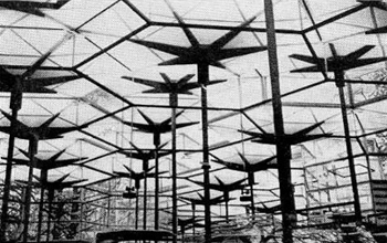 0. pabellon bruselas 1958 vista interior 350