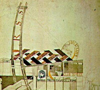 3. -melnikov-pabellon de la URSS