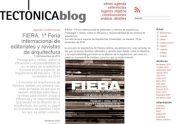 feria internacional de editoriales y revistas de arquiectura tectonica en stepienybarno 350