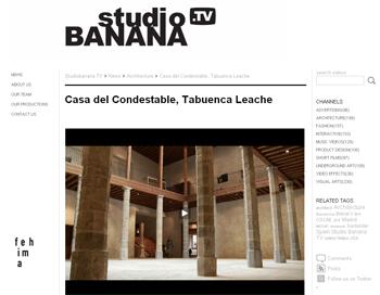 CASA DEL CONDESTABLE DE  TABUENCA LEACHE studio banana en stepienybarno