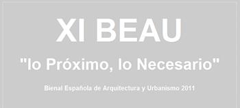 0. PORTADA BIENAL ESPAÑOLA DE ARQUITECTURA Y  URBANISMO (BEAU XI). en stepienybarno