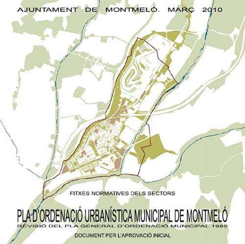 2.1 Plan de Ordenación Urbanística Municipal de Montmeló (Barcelona), de los arquitectos Jornet, Llop y Pastor 500  en BEAU XI stepienybarno