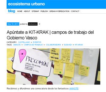 KIT-KRAK  ECOSOISTEMA URBANO  AMASTE en Stepienybarno