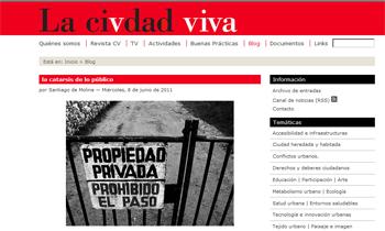 LA CATARSIS DE LO PÚBLICO SANTIAGO DE MOLINA LA CIUDAD VIVA STEPIENYBARNO