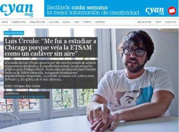 ENREVISTA CON LUIS ÚRCULO.cyanmag.Stepienybarno