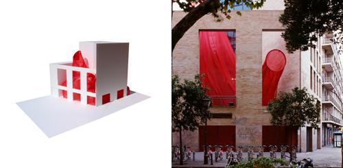 2. Ángel Martínez _  patio del Colegio de Arquitectos  _ en Stepienybarno