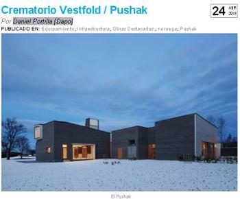 Crematorio Vestfold   Pushak.DanielPortilla.PlataformaArquitectura.Stepienybarno