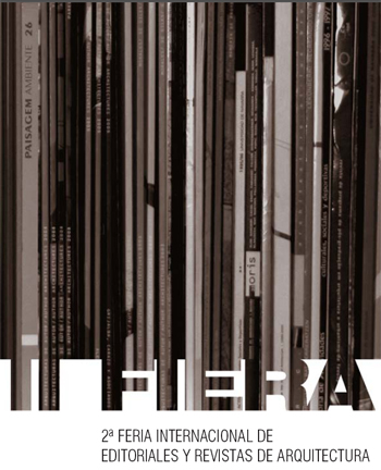 Ii fiera feria internacional de editoriales y revistas de for Revistas de arquitectura online