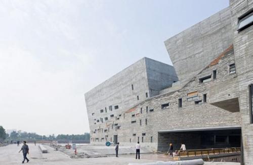 1. Museo de Historia de Ningbo _ Wang Shu, Amateur Architecture Studio Pritzker _ stepienybarno 500