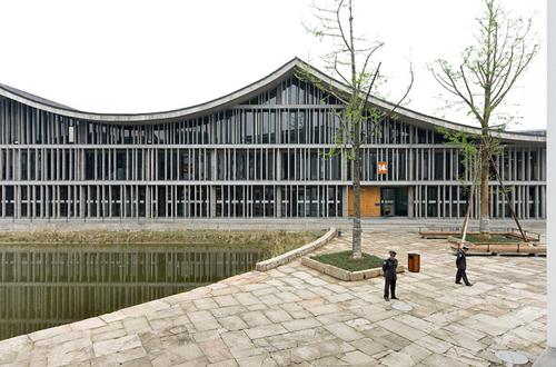 3. Nueva Academia de Arte en Hangzhou _ Wang Shu, Amateur Architecture Studio Pritzker _ stepienybarno