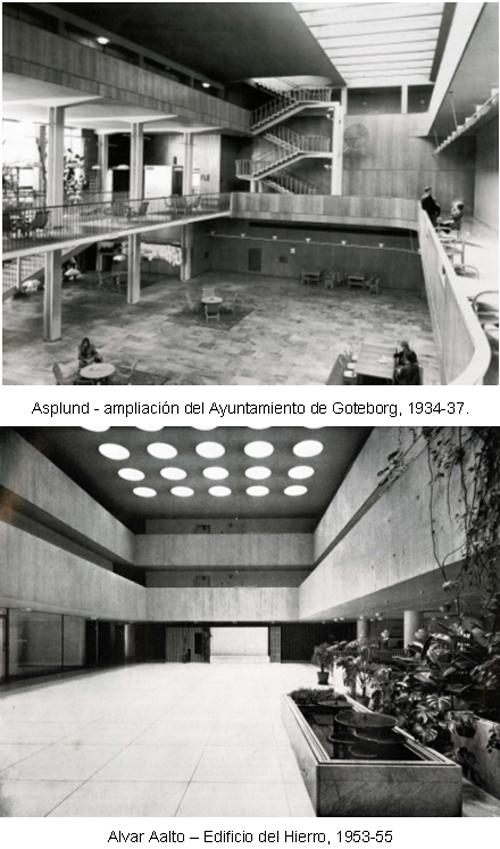 2. Asplund - ampliación del Ayuntamiento de Goteborg Edificio del Hierro ALVAR AALTO _ stepienybarno 500