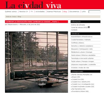 EDUCACION ARQUITECTURA STEPIENYBARNO EN LA CIUDAD VIVA