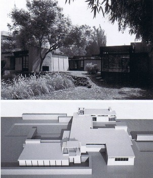 2. Casa Schindler - Chace, Kings Road – Hollywood, 1921-22 Rudolf Michael Schindler _ Stepienybarno