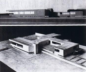 2. Casa de campo de hormigón, 1923 Mies van der Rohe _ Stepienybarno