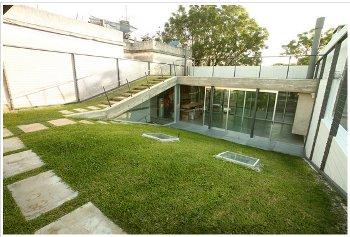 Casa Cubierta Verde. Luis Alonso.Blog y arquitectura.Stepienybarno