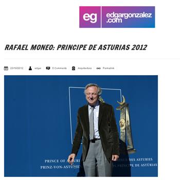 edgarg  Edgar González._  EL PREMIO PRÍNCIPE DE ASTURIAS DE LAS ARTES _ RAFAEL MONEO _ Stepienybarno