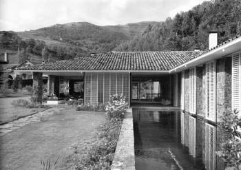 Casa Ballvé,1957 _ JOSÉ ANTONIO CODERCH. Arquitectura _ stepienybarno