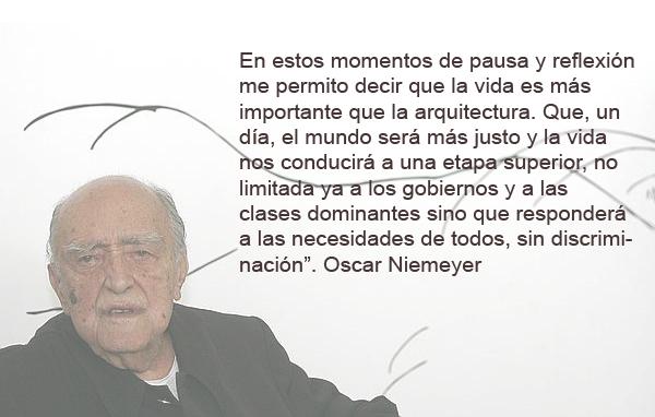Fallece Niemeyer 104 Años Blog De Stepien Y Barno