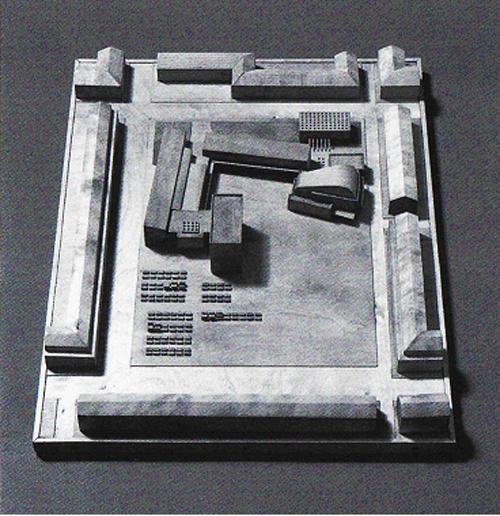 8. Alvar Aalto – Propuesta para el Ayuntamiento de Avesta, 1944. stepienybarno