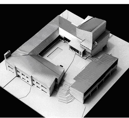 9. Alvar Aalto – Maqueta del Ayuntamiento de Saynatsalo, 1952. stepienybarno