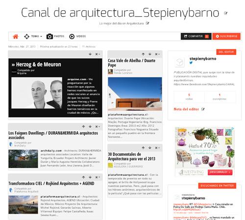 El d a en twitter blog de stepien y barno for Blog de arquitectura