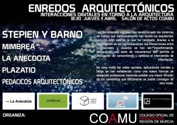 arquitectura y redes Pedacicos de Arquitectura, Mimbrea, La anécdota y Plazatio