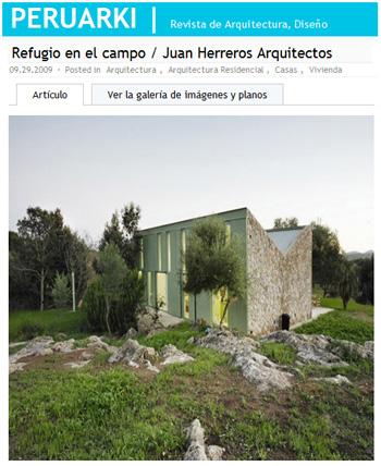 Refugio en el campo-Juan Herreros arquitectos-peruarki-stepienybarno
