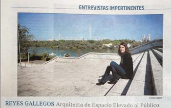 Reyes Gallegos. Entrevistas Impertinentes _ El mundo. Stepienybarno laciudadviva espaco elevado publico