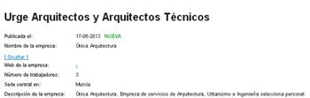 infojobs arquitectos 350