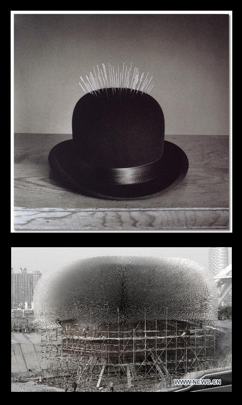 1. Pabellón UK Pavilion  Shanghai _  Thomas Heatherwick–Chema-Madoz-stepienybarno