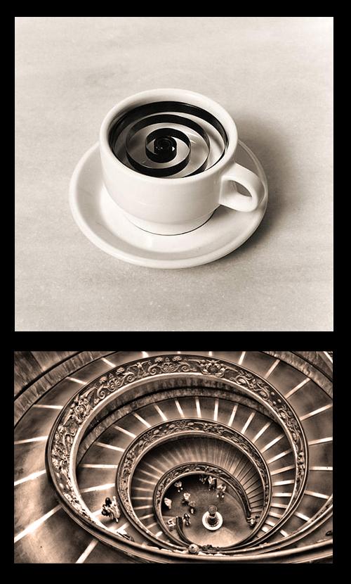 5. Escalera Espiral del Vaticano-Museos Bramante–Chema-Madoz-stepienybarno
