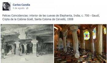 cuevas de Elephanta, India, c. 700 - Gaudí