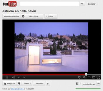 Estudio de arquitectura en Granada-Elisa Valero_Stepienybarno