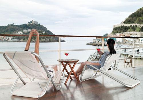 Dvelas dise o contempor neo reutilizando velas de barco blog de stepien y barno - Silla tumbona ...