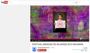 FESTIVAL MIRADAS DE MUJERES 2014  _ coavn-stepienybanro