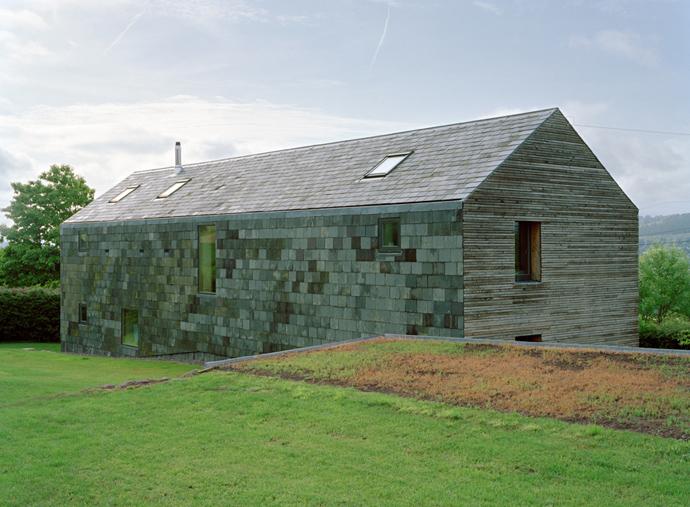 Casas con tejado a dos aguas la nueva simplicidad blog for Piani di progettazione cabana