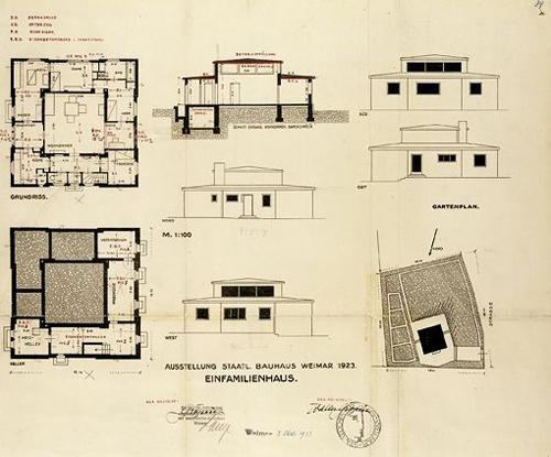 1.1CASA MODELO-HAUS AM HORN-1923-Bauhaus-Weimar-stepienybarno