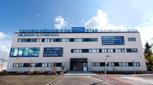 5.- Centro M+®dico y de Bienestar Milenium Alcobendas de Sanitas.
