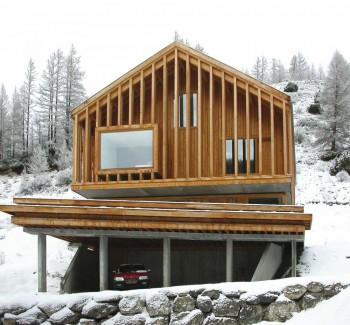 Casa en Abriès-Atelier Fernández & Serres -tectonica blog-stepienybarno 1