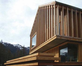 Casa en Abriès-Atelier Fernández & Serres -tectonica blog-stepienybarno