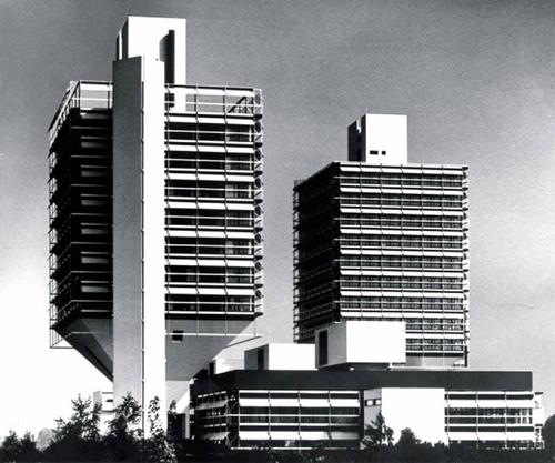 Oficinas Olivetti (1968-1972) Frankfurt _ Egon Eiermann