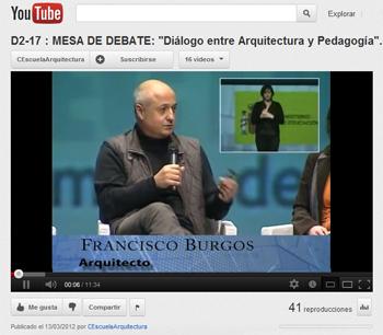 diálogo entre pedagogía y arquitectura-Francisco Burgos-Congreso Escuela Arquitectura Zaragoza_Stepienybarno