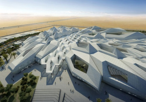 2. Zaha Hadid Rey Abdullah estudios del petróleo y centro de investigación- Zaha Hadid Architects
