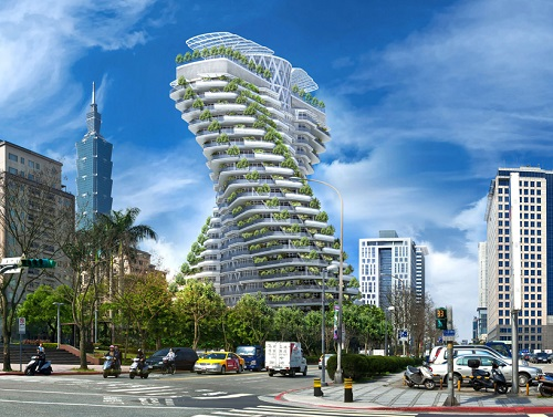 9. vincent callebaut   'agora tower' by vincent callebaut architectures, taipei, taiwan