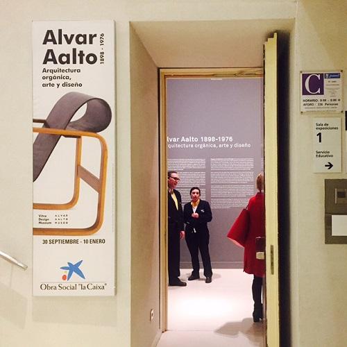 1. ENTRADA expo - Aalto-EXPOSICION-Caixa Forum-Madrid- STEPIENYBARNO