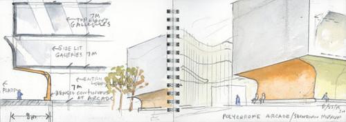 Dise o para el museo y biblioteca de arte de shenzhen for Biblioteca arquitectura