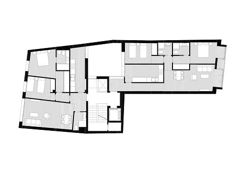 1. Beltrán + Heras arquitectos planta  500