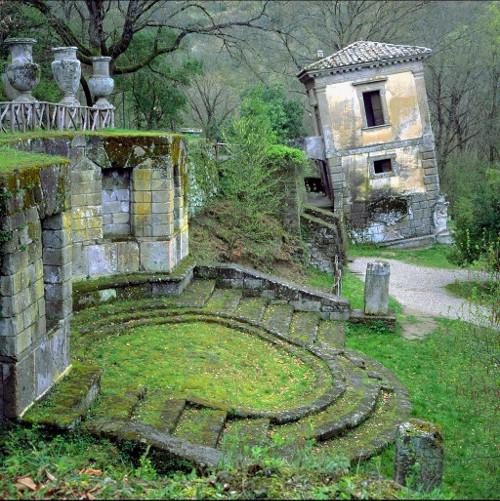 El jard n de bomarzo o parque de los monstruos park of for Jardines de bomarzo