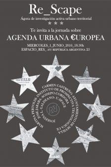 Stepienybarno-blog- Re_Scape- Agenda Urbana Europea