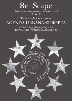 Stepienybarno-blog- Re_Scape- Agenda Urbana Europea